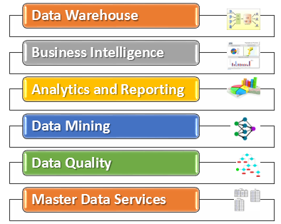 Business Intellience, OLAP, BI, Data Warehouse, Data Mining
